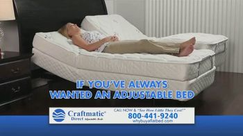Craftmatic Black Friday Through Christmas Year-End Closeout Event TV Spot, 'Crazy Lady' - Thumbnail 1