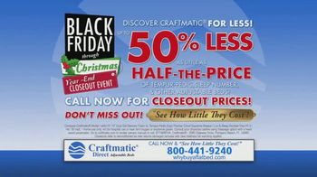 Craftmatic Black Friday Through Christmas Year-End Closeout Event TV Spot, 'Crazy Lady' - Thumbnail 10