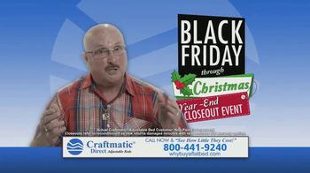 Craftmatic Black Friday Through Christmas Year-End Closeout Event TV Spot, 'Crazy Lady' - Thumbnail 7