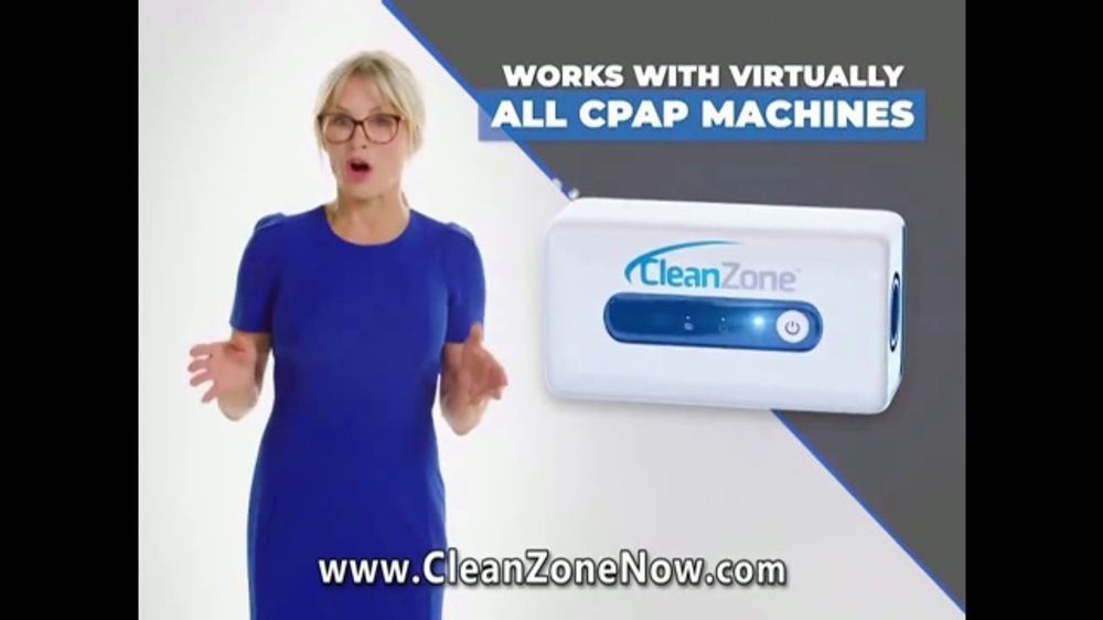 Clean Zone CPAP Cleaner & Sanitizer TV Commercial, 'Attention CPAP Users' Featuring Taylor Baldwin