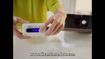 Clean Zone CPAP Cleaner & Sanitizer TV Spot, 'Attention CPAP Users' Featuring Taylor Baldwin - Thumbnail 3