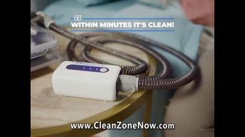 Clean Zone CPAP Cleaner & Sanitizer TV Spot, 'Attention CPAP Users' Featuring Taylor Baldwin - Thumbnail 5