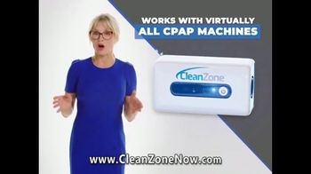 Clean Zone CPAP Cleaner & Sanitizer TV Spot, 'Attention CPAP Users' Featuring Taylor Baldwin