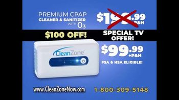 Clean Zone CPAP Cleaner & Sanitizer TV Spot, 'Attention CPAP Users' Featuring Taylor Baldwin - Thumbnail 9