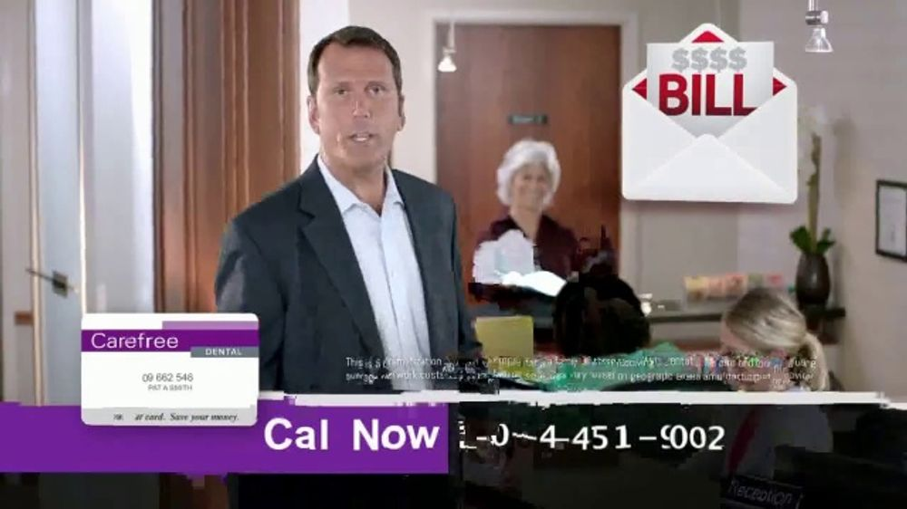 Carefree Dental Plan TV Commercial, 'Relieve Painful Bills'