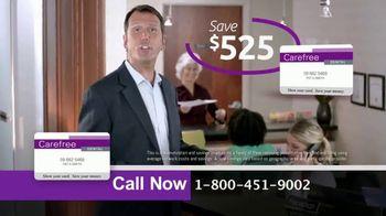 Carefree Dental Plan TV Spot, 'Relieve Painful Bills' - Thumbnail 5