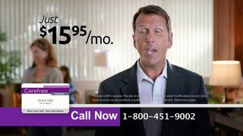 Carefree Dental Plan TV Spot, 'Relieve Painful Bills' - Thumbnail 7