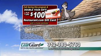 LeafGuard of Chicago 99 Cent Install Sale TV Spot, 'Colors' - Thumbnail 9