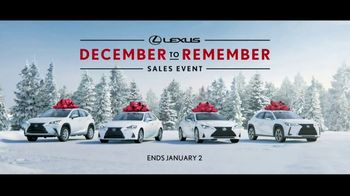 Lexus December to Remember Sales Event TV Spot, 'The Bow Cover-Up' [T1] - Thumbnail 9