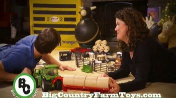 Big Country Toys TV Spot, 'Holidays: Set Up the Toys'