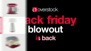 Overstock.com Black Friday Blowout TV Spot, 'It's Back'