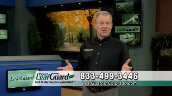 LeafGuard of Colorado 99 Cent Install Sale TV Spot, 'Patented Internal Hanger: $200 VISA Gift Card'