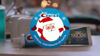 Crest TV Spot, 'Holidays: Bertha's Debut Commercial' Song by Geoffrey Gascoyne & James Pierpont - Thumbnail 9