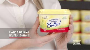 I Can't Believe It's Not Butter TV Spot, 'Brand Power: Good Fats'