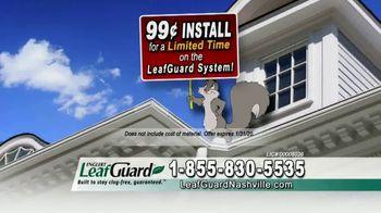LeafGuard of Nashville 99 Cent Install Sale TV Spot, 'Big Mouth: $200 VISA Gift Card' - Thumbnail 5