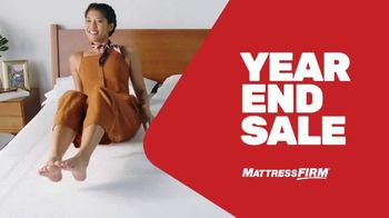 Mattress Firm Year End Sale TV Spot, 'Save up to $400'