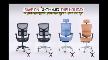 X-Chair Holiday Sale TV Spot, 'World's Most Productive People' - Thumbnail 7