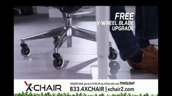 X-Chair Holiday Sale TV Spot, 'World's Most Productive People' - Thumbnail 9
