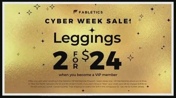 Fabletics.com Cyber Week Sale TV Spot, 'Cute and Functional: Two for $24' Featuring Kate Hudson - Thumbnail 9