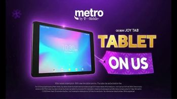 Metro by T-Mobile TV Spot, 'Holidays: Best Deal in Wireless: Tablet' - Thumbnail 5