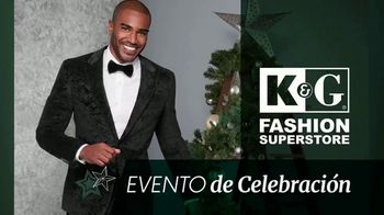 K&G Fashion Superstore Evento de Celebración TV Spot, 'Sacos, trajes y camisas de vestir' [Spanish]