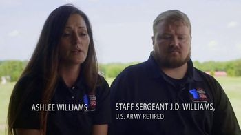 Coalition to Salute America's Heroes TV Spot, 'The Caregiver's Story: SSG J.D. Williams' - Thumbnail 1