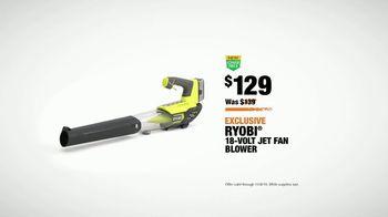 The Home Depot TV Spot, 'College GameDay: Ryobi 18-Volt Blower' - Thumbnail 8