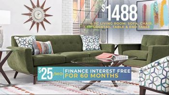 Rooms to Go Holiday Sale TV Spot, '4-Piece Living Room Set' - Thumbnail 2