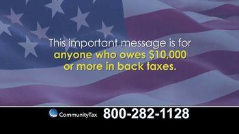 Community Tax TV Spot, 'Don't Wait' - Thumbnail 1