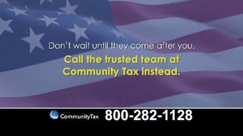 Community Tax TV Spot, 'Don't Wait'