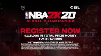 NBA 2K20 Global Championship TV Spot, 'Win Up to $115,000' Song by The Seige - Thumbnail 9