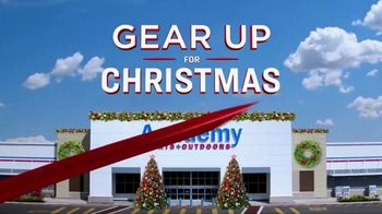 Academy Sports + Outdoors Holiday Price Drop TV Spot, 'Gear Up for Christmas' Song by Trap City - Thumbnail 1
