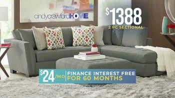 Rooms to Go Holiday Sale TV Spot, '2-Piece Sectional' - Thumbnail 3