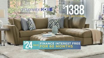 Rooms to Go Holiday Sale TV Spot, '2-Piece Sectional' - Thumbnail 4