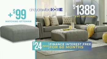 Rooms to Go Holiday Sale TV Spot, '2-Piece Sectional' - Thumbnail 5