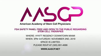 American Academy of Stem Cell Physicians TV Spot, 'FDA Safety Panel' - Thumbnail 2