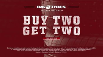 Big O Tires Buy Two Get Two Sale TV Spot, 'Legendary Deal' - Thumbnail 9