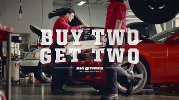 Big O Tires Buy Two Get Two Sale TV Spot, 'Legendary Deal' - Thumbnail 1