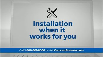 Comcast Business TV Spot, 'Time is Money: Add TV & Voice for $34.90' - Thumbnail 6