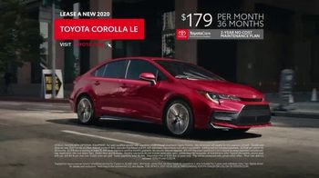 2020 Toyota Corolla TV Spot, 'Connected' [T1] - Thumbnail 9