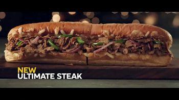 Subway Ultimate Cheesy Garlic Bread Collection TV Spot, 'Tis the Season' - Thumbnail 3