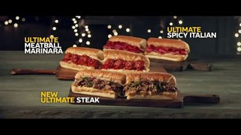 Subway Ultimate Cheesy Garlic Bread Collection TV Spot, 'Tis the Season'