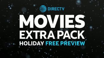 DIRECTV TV Movies Extra Pack Holiday Free Preview TV Spot, 'The Gift of Movies' - Thumbnail 6