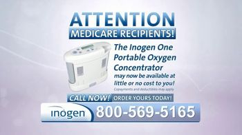 Inogen One TV Spot, 'Attention Medicare Recipients' - Thumbnail 1