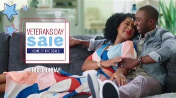 Ashley HomeStore Veterans Day Sale TV Spot, 'Ends Monday: Up to 30 Percent Off ' Song by Midnight Riot