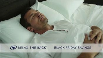 Relax the Back Black Friday Savings TV Spot, 'Celebrate Early'