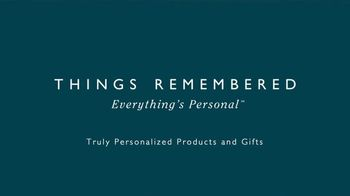 Things Remembered TV Spot, 'Everything's Personal' - Thumbnail 9