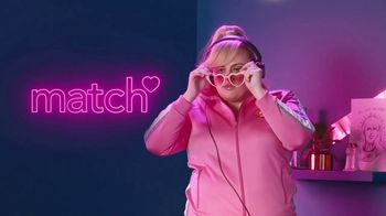 Match.com TV Spot, 'Pizza in Bed' Featuring Rebel Wilson - Thumbnail 1
