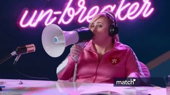 Match.com TV Spot, 'Pizza in Bed' Featuring Rebel Wilson - Thumbnail 2
