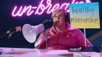 Match.com TV Spot, 'Pizza in Bed' Featuring Rebel Wilson - Thumbnail 3